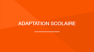 Adaptation scolaire